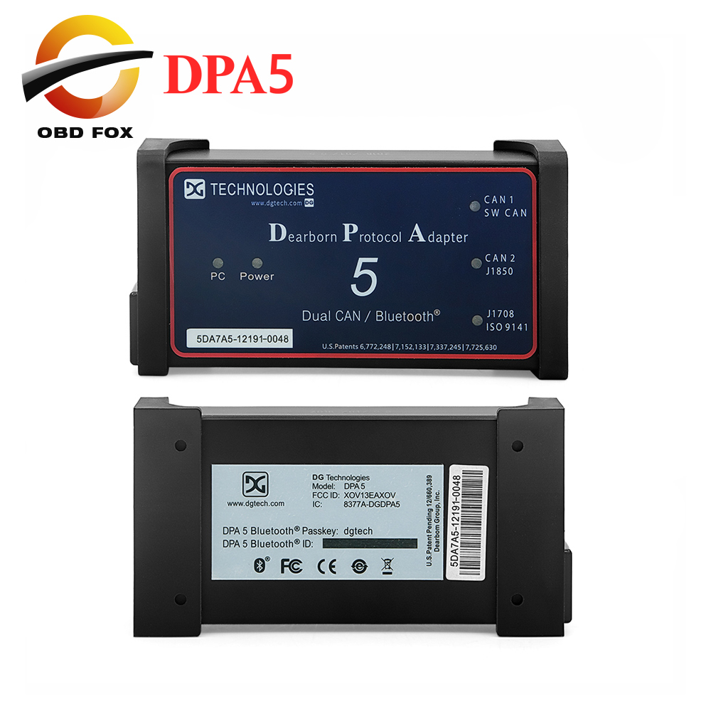 US $189 5 |2017 New desiged DPA 5 Diagnostic Scanner For Diesel Engine DPA5  Dearborn Protocol Adapter 5 Without Bluetooth-in Car Diagnostic Cables &