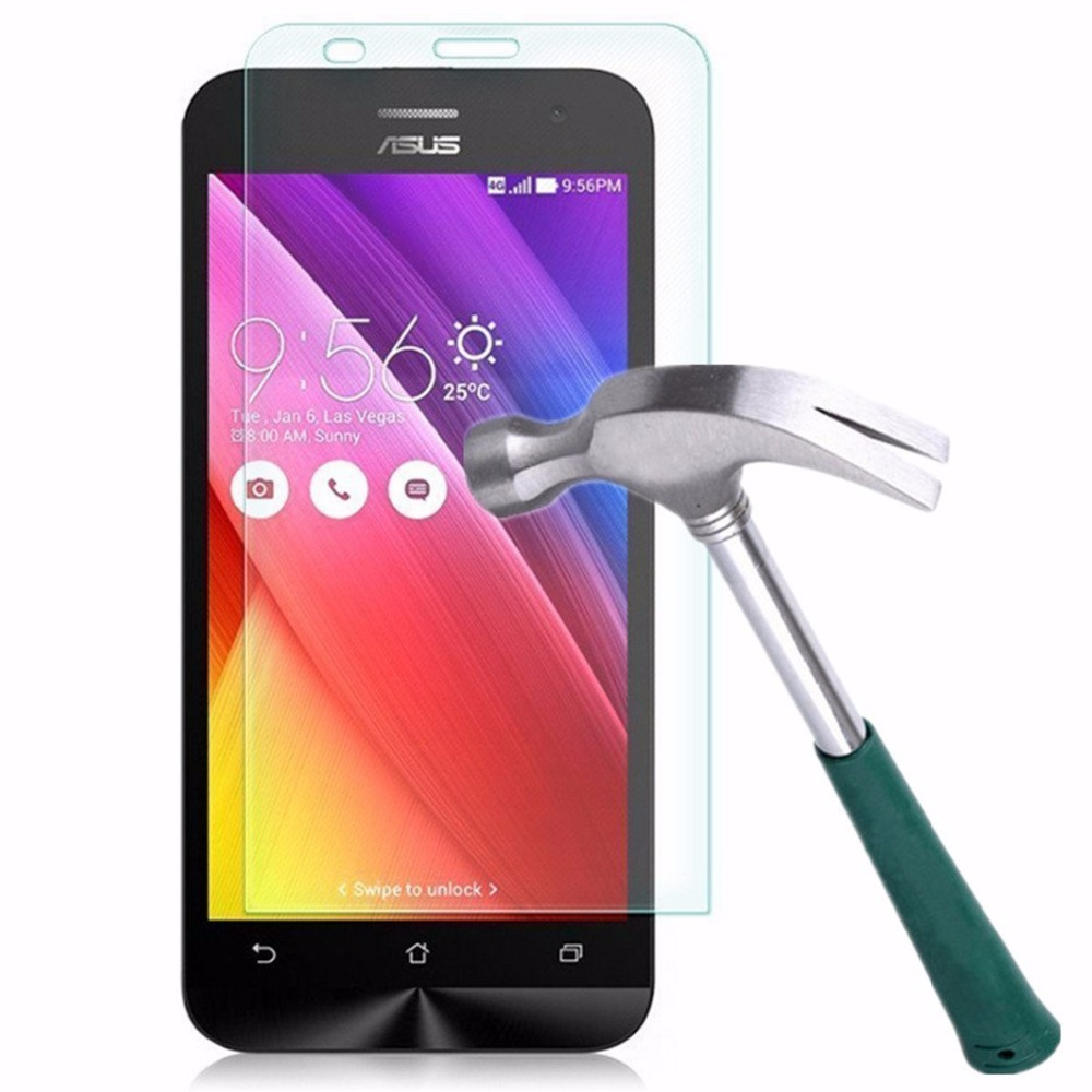Top Quality Tempered Glass For <font><b>Asus</b></font> Zenfone 2 Laser ZE500KL C 3 Max <font><b>ZC520TL</b></font> ZC550KL GO ZB500KL ZB450KL Screen Protector Case image