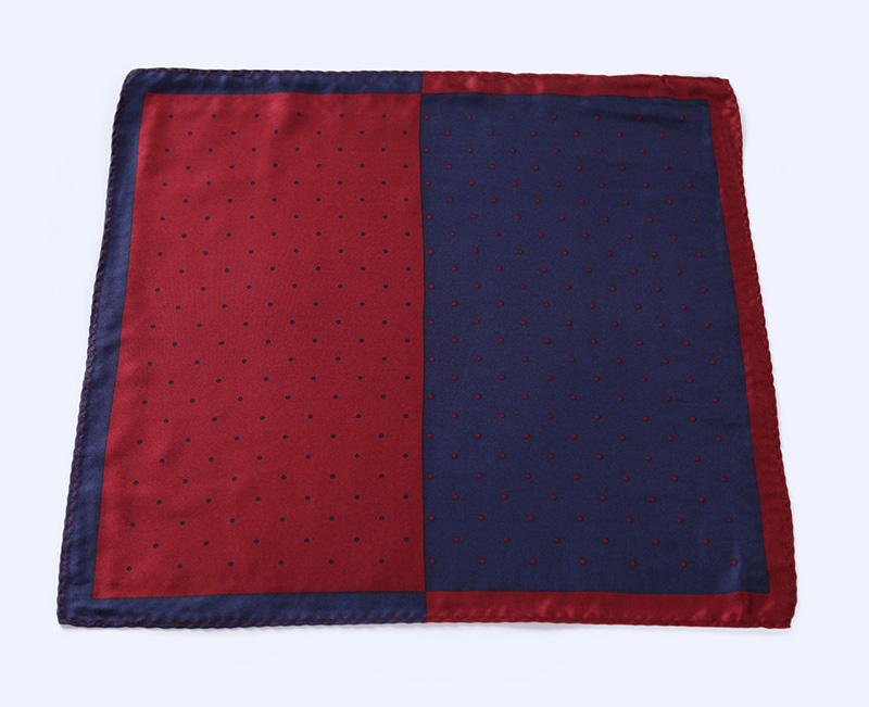 HN14R Handkerchief 100/% Natural Silk Satin Mens Hanky Wedding Pocket Square