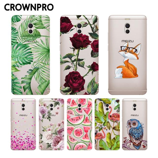 CROWNPRO Meizu M6 Note Case Cover FOR Meizu M6 Note Case Phone Back Protective Soft TPU Silicone Case Meizu M6 Note Fundas