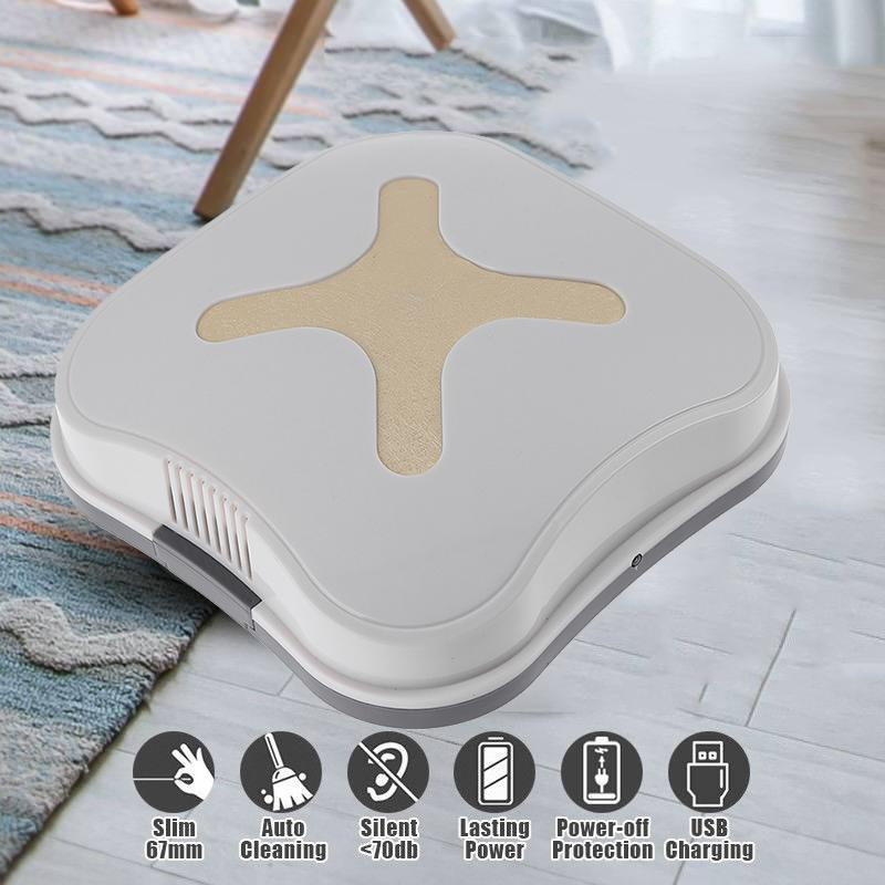цена Rechargeable Auto Cleaning Robot Smart Sweeping Robot Floor Dirt Dust Hair Automatic Cleaner For Home Electric Vacuum Cleaners