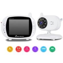 "3.5"" Wireless Video Baby Sleep Monitor 2 Way Talk WIFI Video Surveillance Security Camera Night Vision Nanny Temperature Detect"