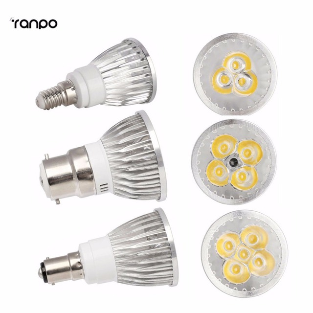 Dimmable LED Spotlight B15 B22 E14 Bayonet ES 6W 8W 10W Bulb Lamp