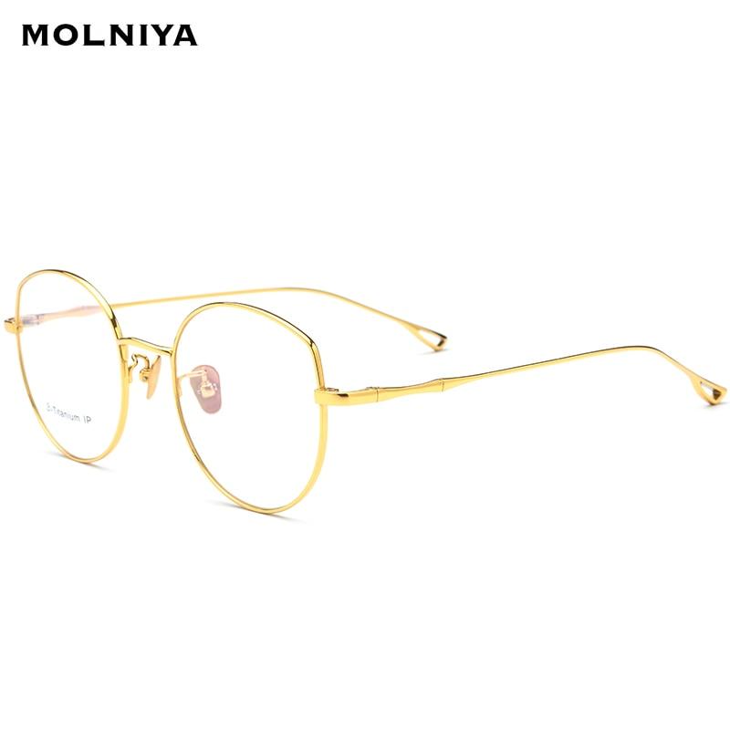 2019 pur B titane lunettes cadre femmes ultra-léger Prescription lunettes hommes chat yeux lunettes myopie armature de lunettes