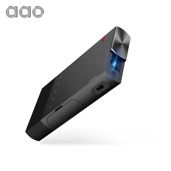 AAO DLP Projector S1 Mini Portable Multi Screen Sync Wired Display Projector 1080P HD DLP LED 5200 mAh Battery Pico 3D Projector