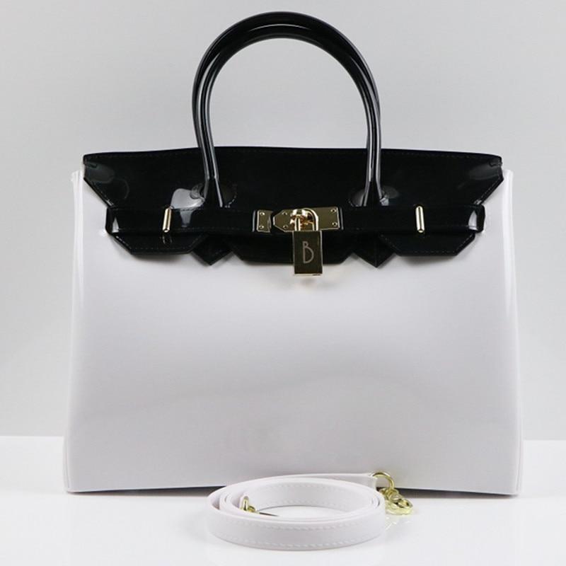 Фото Famous Brand Pachwork Women Bag High Quality Leather Handbags Hit Color Cross Body Shoulder Bag Fashion Messenger Bag Bolsas Sac