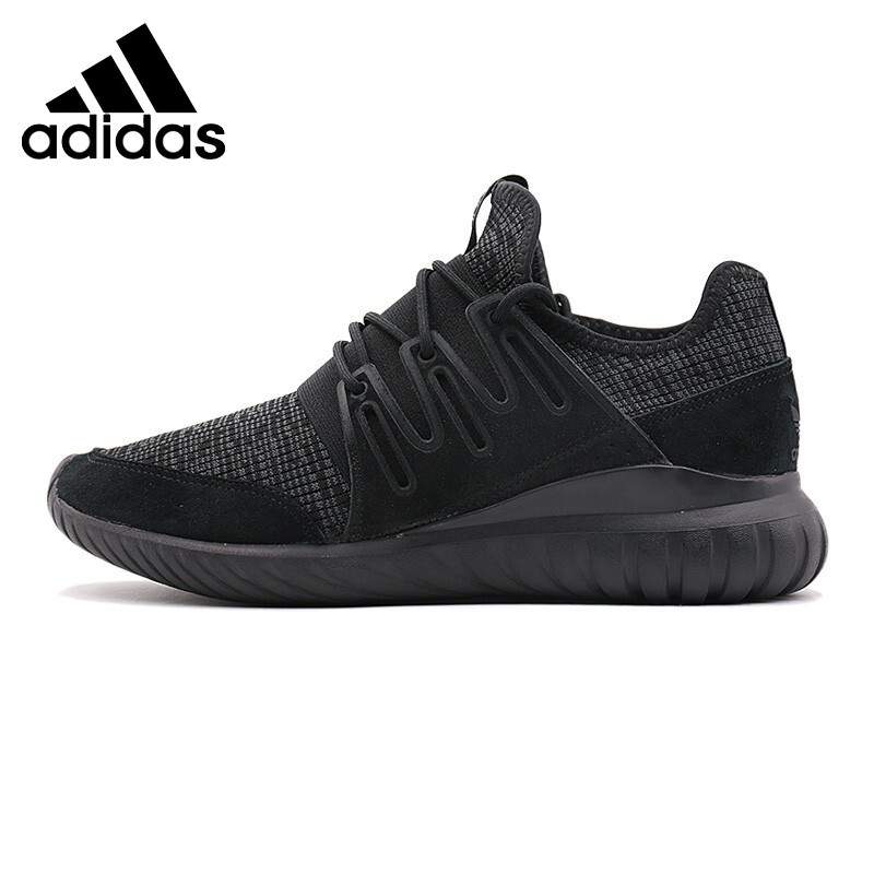 Original New Arrival Adidas Originals TUBULAR RADIAL Men's Skateboarding Shoes Sneakers