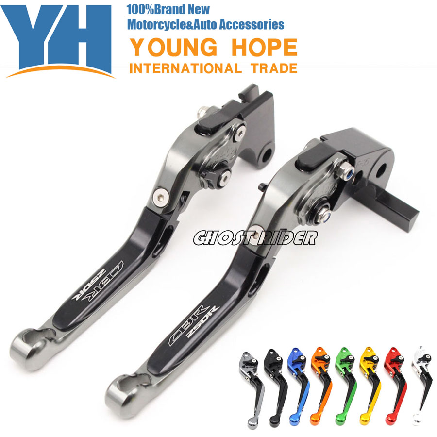 For HONDA CBR250R CBR300R CB300F CBR500R CB500F CB500X Motorcycle Adjustable Folding Extendable Brake Clutch Levers billet new alu long folding adjustable brake clutch levers for honda cbr250r cbr 250 r 11 13 cbr300r 14 cbr500r cb500f x 13 14