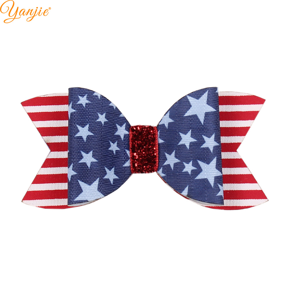 Minnie Mouse Patriotic //4th of July Baby//Toddler //Girl Headband