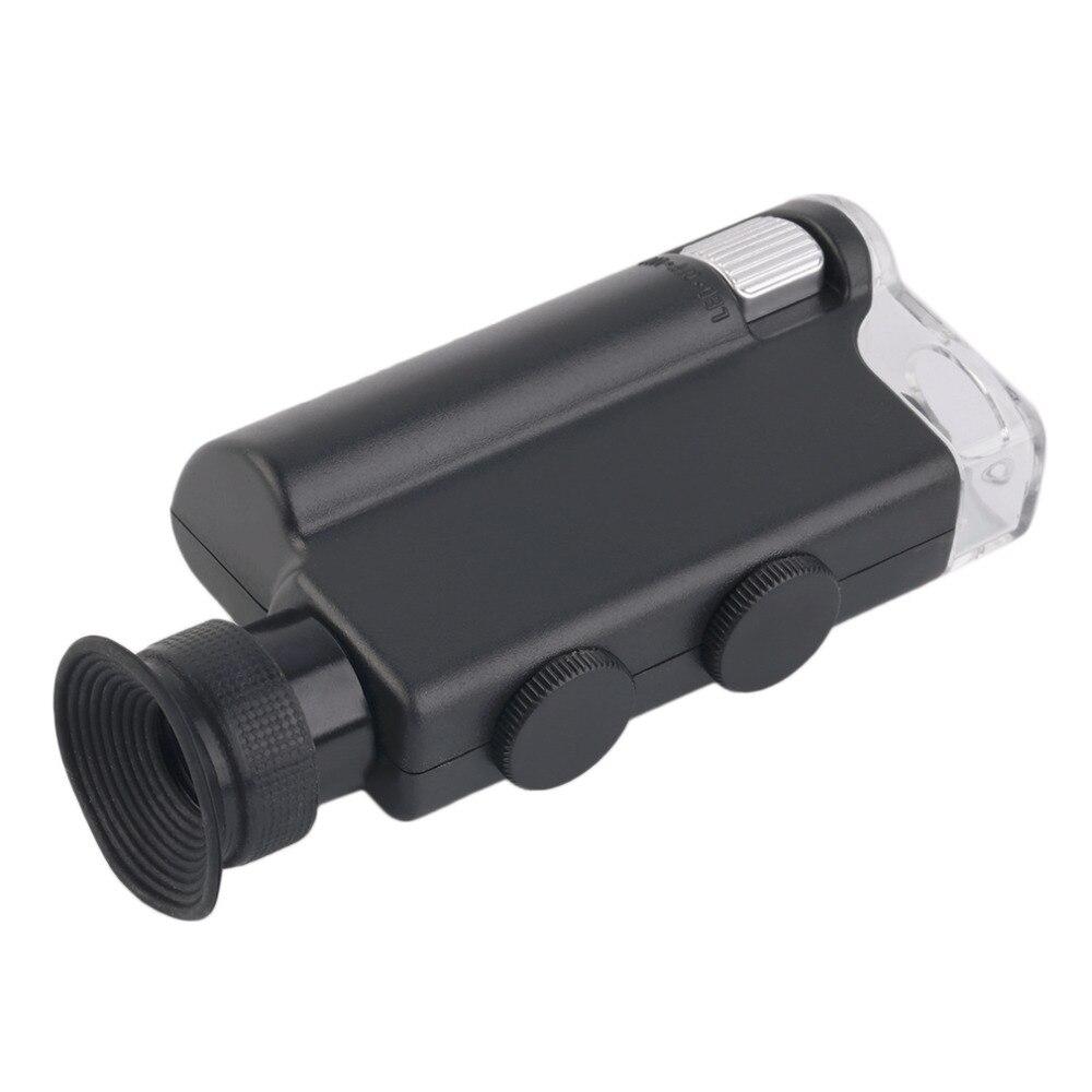 2017 m. NAUJAS Mini nešiojamas mikroskopo kišenė 200X ~ 240X - Matavimo prietaisai - Nuotrauka 5