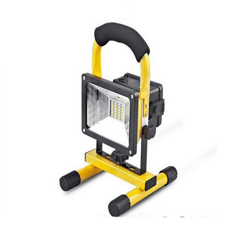 CHENGYILT Portable Lanterns Rechargeable 30W Flood Light Portable Outdoor Waterproof IP65 Emergency Lamp Work Light 13w running time12hours ip65 white constand and red flash portable light emergency light led flood light camping light