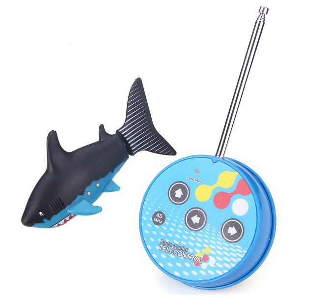 Rc Mini Electrical Shark-shaped Submarine/Boat Rc Toy