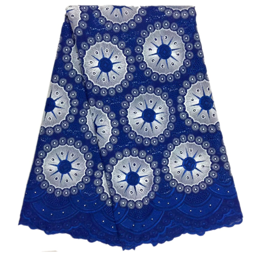 High Quality Swiss Voile Lace 2017 African Voile Swiss Lace Fabric African Swiss Cotton Voile Lace Fabric For party