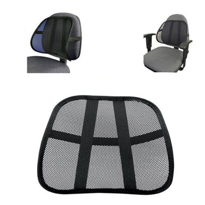 High Quality Cool Breathable Mesh Support Lumbar Cushion Seat Back Muscle Car Home