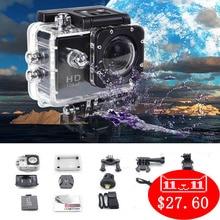 Étanche 1080 P HD Sport Action Extérieure Caméra GoPro Accessoires Mieux puis Aller Pro Hero 4 SJ4000 Série Pour Xiaomi Yi 4 K
