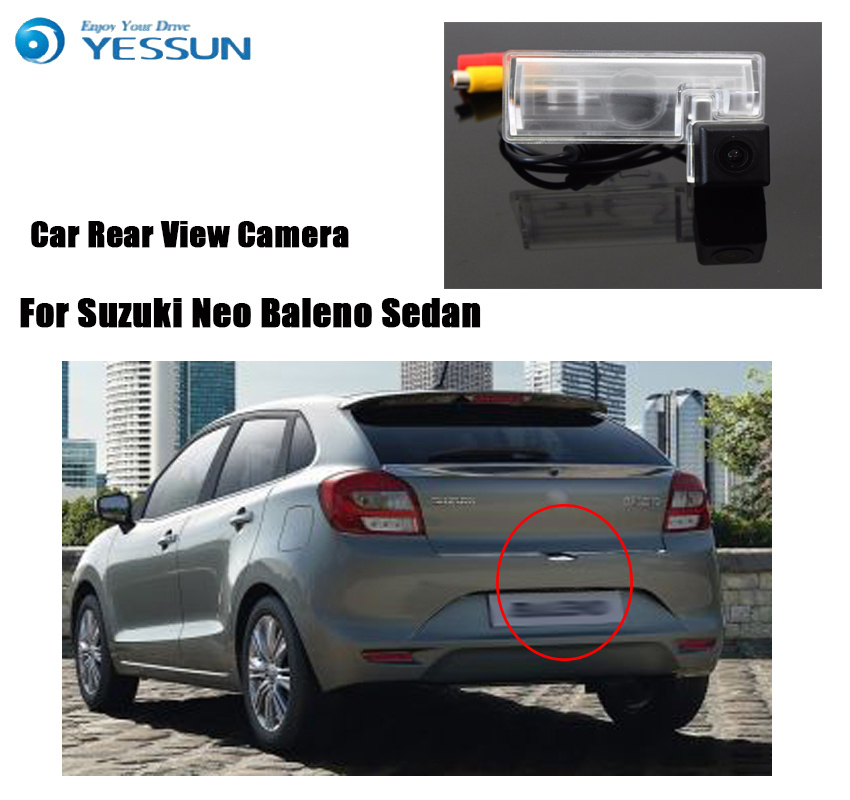 YESSUN Car Rear View Back Up Reverse Parking Camera For Suzuki Neo Baleno Sedan HD CCD Night Vision Reversing Backup Camera CAM