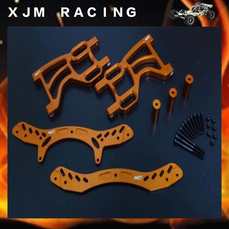 1 5 rc car racing parts Rear double shock bracket set fit hpi rovan km baja