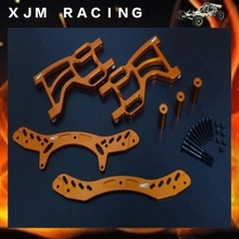 1/5 rc car racing parts, Rear double shock bracket set fit hpi rovan km baja 5b