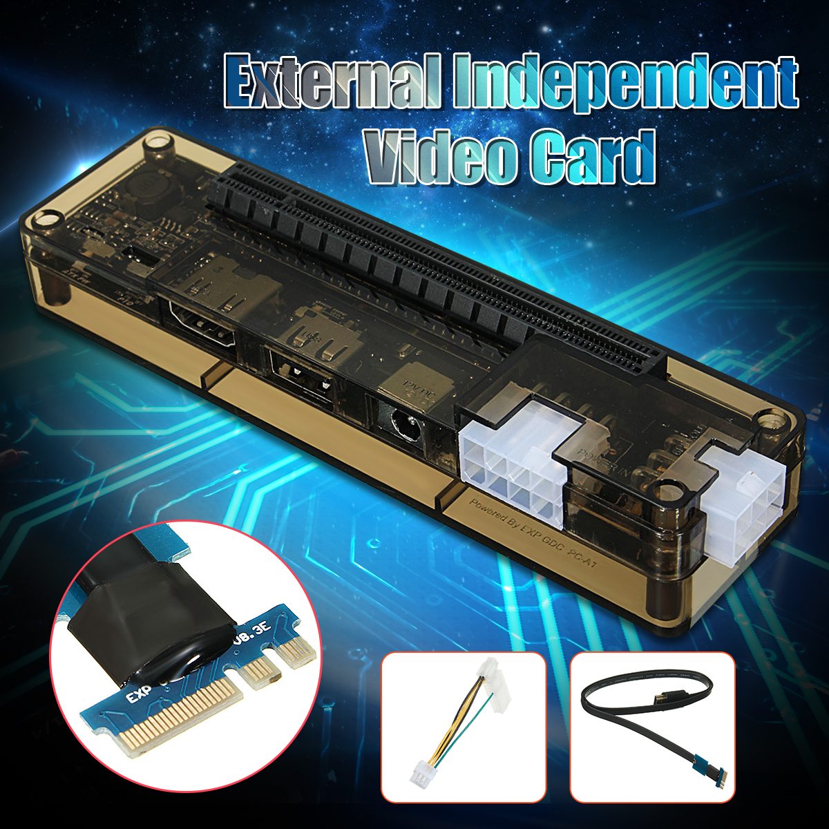 V8.0 EXP GDC Beast Laptop External Independent Video Card Dock NGFF Notebook PCI-E expansion device new exp gdc hdmi to mini pci e cable laptop notebook pci e expansion device for exp gdc external independent video card dock