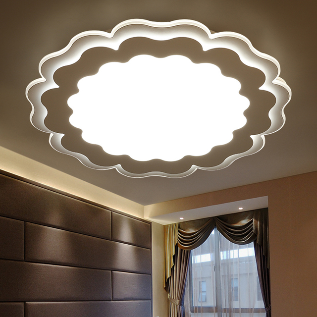 Modern ceiling lights livingroom bedroom acrylic lamp design plafonnier lighting fixtures lamparas de techo lamp moderne