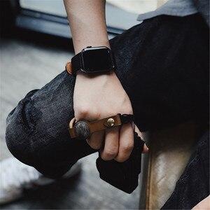 Image 3 - Handmade Leather Camera Wrist Hand Strap For Ricoh Leica Fuji Sony Olympus Canon Nikon Mirrorless Camera