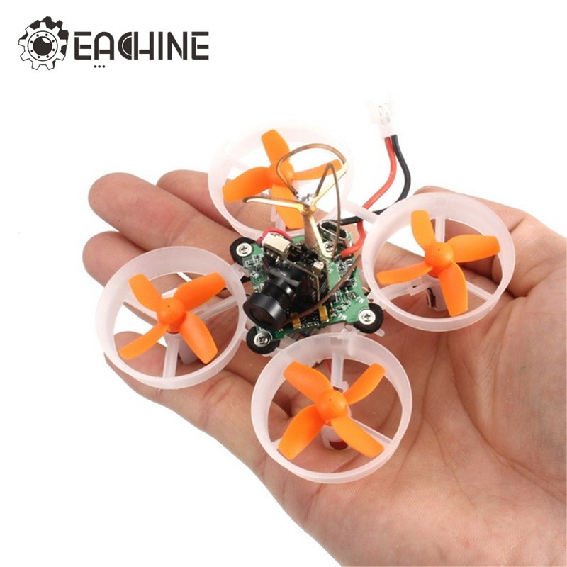 Eachine E010S 65mm Micro FPV Racing Quadcopter RC Drone With 800TVL CMOS Based On F3 Brush Flight Controller mimi rc plane 90mm micro fpv racing