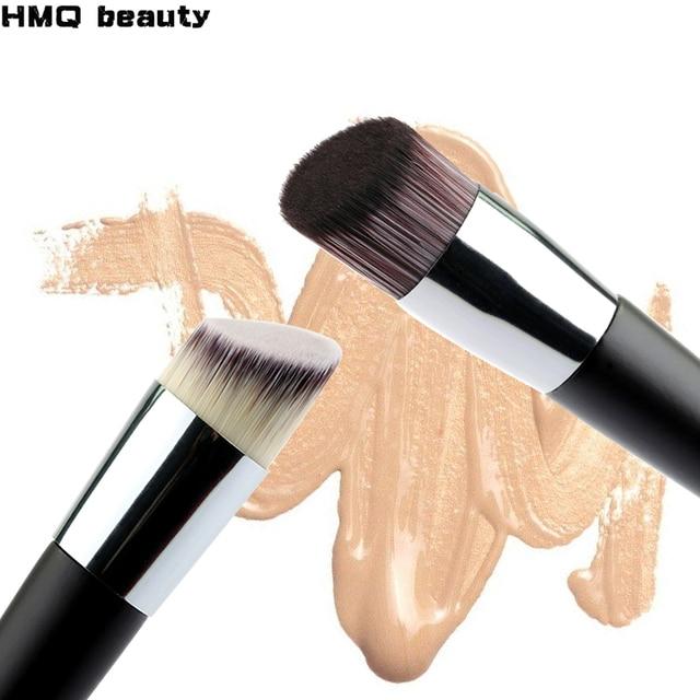 1 piezas de cabeza oblicua cepillo de La Fundación corrector de polvo líquido Fundación cara maquillaje cepillos herramientas profesional cosméticos de belleza