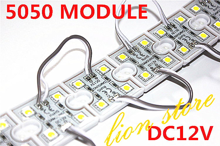 <font><b>LED</b></font> 5050 <font><b>4</b></font> <font><b>LED</b></font> <font><b>Module</b></font> 12V waterproof square <font><b>led</b></font> <font><b>modules</b></font> lighting,20PCS/Lot image
