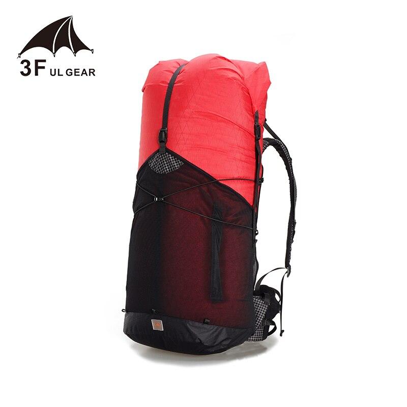 3F UL GEAR 55L grand XPAC escalade sac à dos extérieur ultra-léger cadre moins sacs léger Durable voyage Camping randonnée - 2