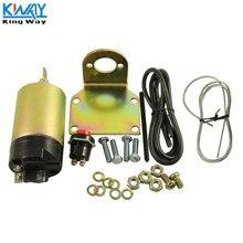 King Way-35lb фунт бритая дверная ручка багажника электромагнитный Поппер комплект уличный стержень SL-35