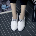 2016 spring tension within the new single shoes flat shoes women increased heavy-bottomed platform shoes to help low