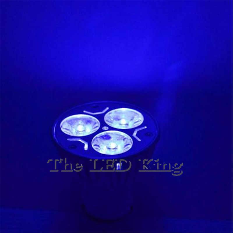 Lampe à LED haute puissance 9 W 12 W 15 W Dimmable 220 V 110 V GU10 gu5.3 MR16 12 V rouge bleu vert spot ampoule plafonniers et éclairage