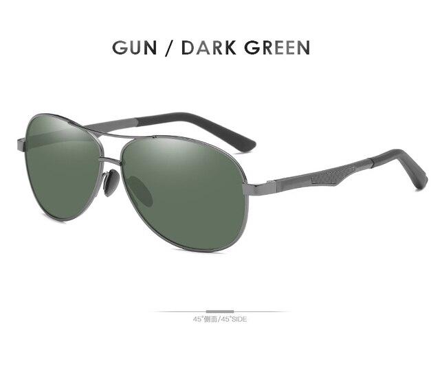 Gray-Dark Green