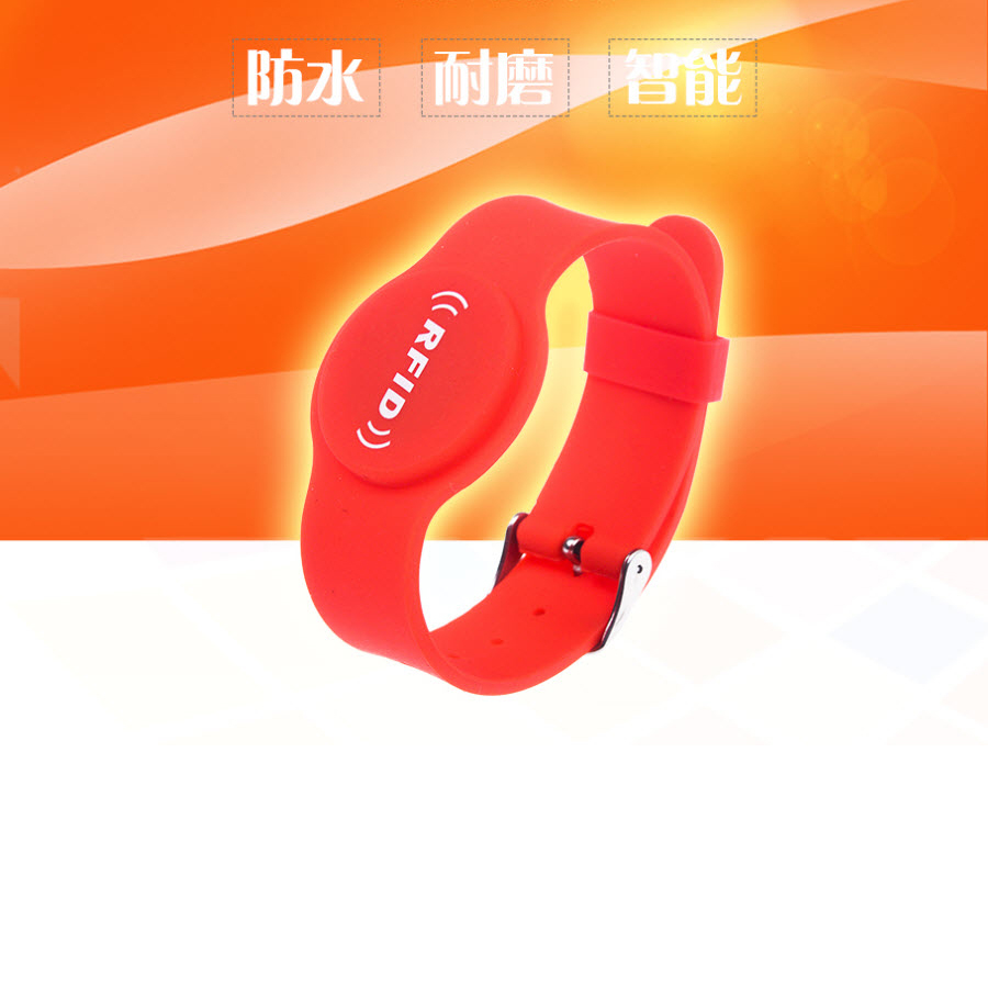 Clever 13.56mhz Mf Classic 1k S50 F08 Nfc Tags Iso14443a Silicone Nfc Wristband Bracelet For Swimming Pool Sauna Room Gym Durable In Use Access Control Security & Protection