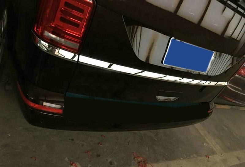 Здесь продается  For VW Volkswagen Transporter (T6) Caravelle Multivan 2017 2018 Rear Trunk Boot Upper Molding Trim car-styling ABS Chrome 3pcs  Автомобили и Мотоциклы