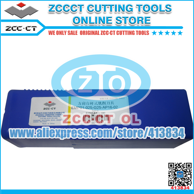Free Shipping EMP01-025-G25-AP16-02 ZCCCT cutting tools milling tool holder ZCC.CT cutting tool support holder for APKT16 все цены