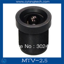 Board 2.5 mm 130 Degree Wide Angle LENS For CCTV Security Camera . free shipping.MTV-2.5