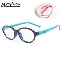 Синий светильник, блокирующие очки, детские солнцезащитные очки, гибкие очки, Детская оптическая оправа, для девочек и мальчиков, цифровые, для игр, UV400