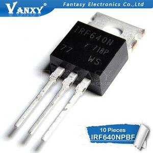 Image 2 - 10 Chiếc IRF640NPBF TO220 IRF640N Đến 220 IRF640 Điện MOSFET Mới Và Ban Đầu