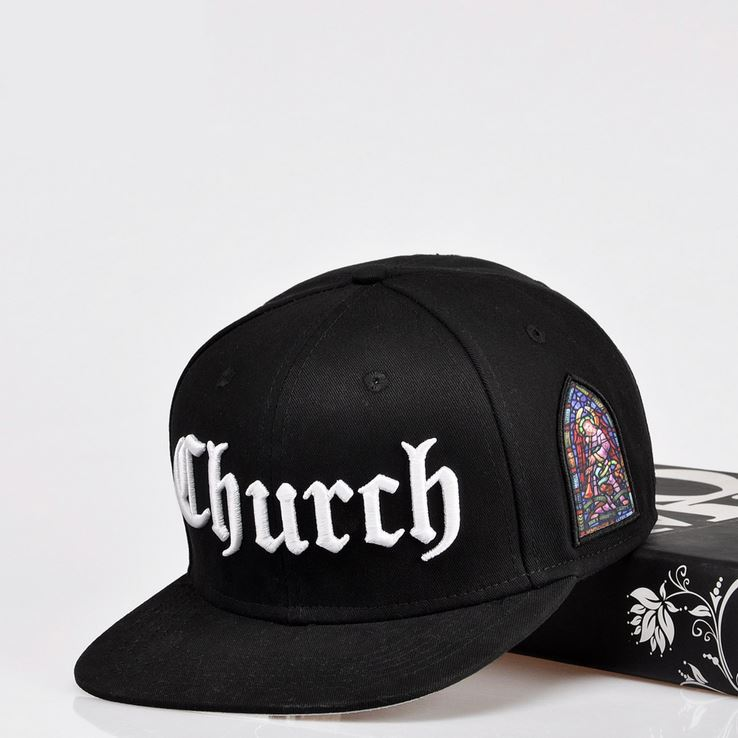 Wholesale Retail 2015 New Fashion Snapback Baseball Cap Christianity Angel  Church Embroidery 2 Colors Snapback Free Shipping 228b7c6b7c5