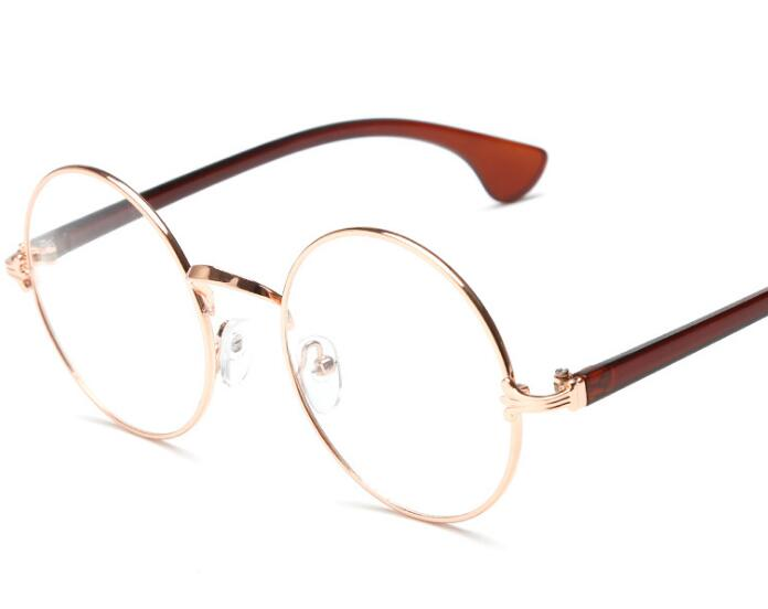 Clear Frame Personality Glasses : ?R25 Round Spectacle ? o_o ? Glasses Glasses Frames ...