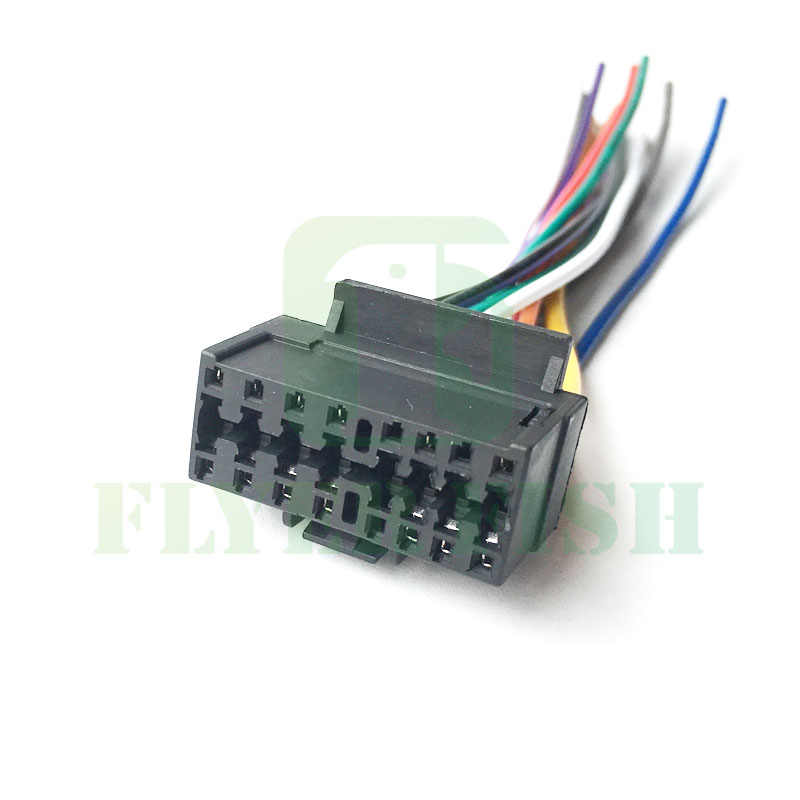 16 PIN Wire Radio Harness Power Plug For DIY Sony Radio Plug CDX GT210 CDX  M630 CDX M650 CDX M800 CDX M670 CDX M600R|plug for power|plug powerplug  harness - AliExpress