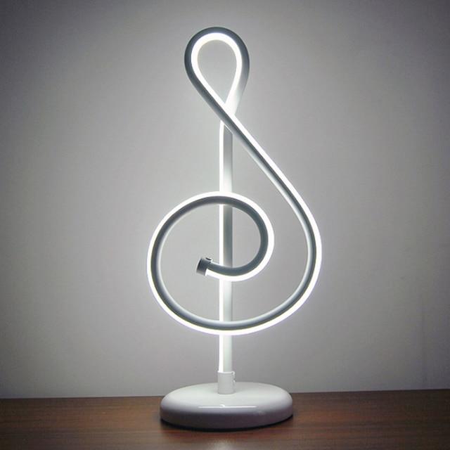 Lampe Remise Moderne 25 W Musique Bureau Led Doré De Note Chambre GzVqSUMpL