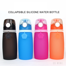 YIBO Sport Foldable Bottle Outdoor Safe Portable Large Capacity Leakproof Sports Cup Children Caliber Direct Drinking