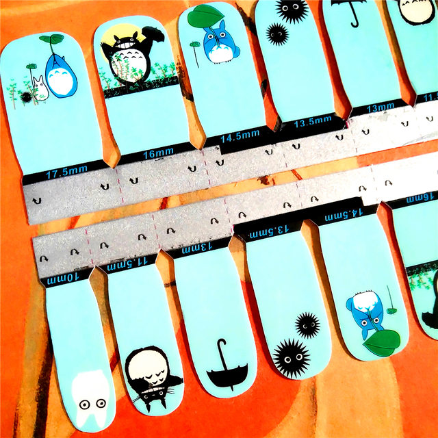Totoro Nail Stickers