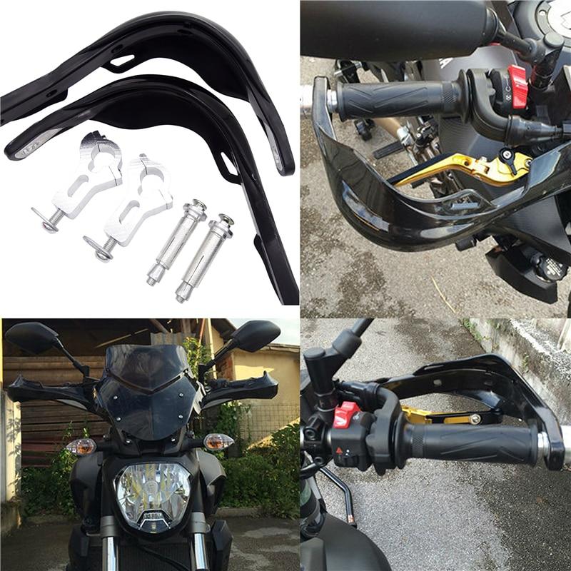1 Pair Universal Motorcycle Handguard Hand For Husqvarna Motocross KTM Benelli Pitbike Suzuki Kawasaki yamaha BMW Triumph-in Falling Protection from Automobiles & Motorcycles