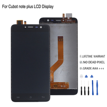 Original For Cubot Note Plus LCD Display Touch Screen Digitizer Phone parts For Cubot Note Plus Screen LCD Display стоимость
