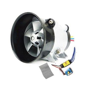 Cargador Turbo de turbina eléctrica Universal para coche, ventilador de entrada de aire de 12 V
