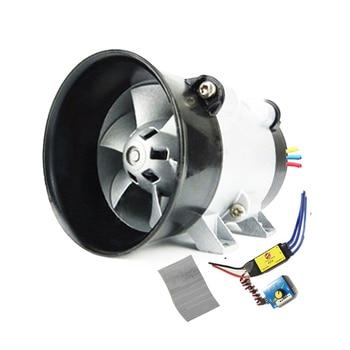 Universal Car Electric Turbine Power Turbo Charger Tan Boost Air Intake Fan 12V
