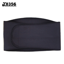 K8356 Nylon Waist Support Sports Fitness Running Riding Breathable Waist Belt Protection For Sports Safety Exercise Belt Black